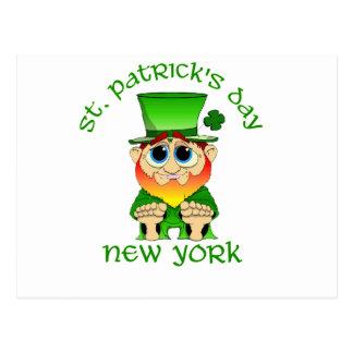 New York ~ Tag St. Patricks lil Geschwätz Postkarte