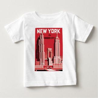 New York The City wonder Baby T-shirt