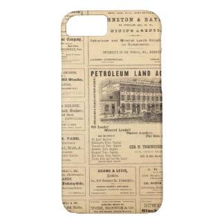 New- York und Pennsylvania-Öl-Anzeigen iPhone 8/7 Hülle