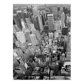 New York von oben Postkarte