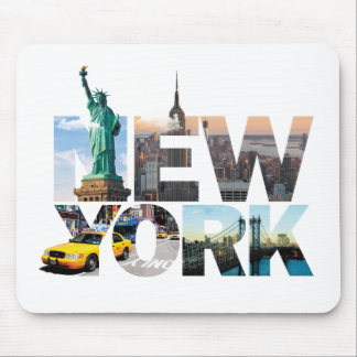 New- Yorkalphabet-Montage Mousepads