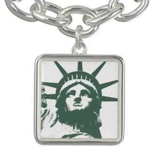 New- Yorkarmband-Freiheitsstatue NYC Andenken Charm Armband