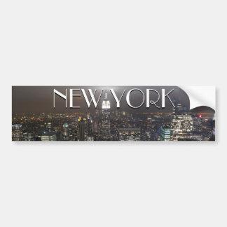 New- YorkAutoaufkleber-New- York Cityaufkleber Autosticker