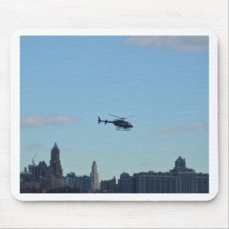 New- YorkBesichtigungs-Hubschrauber Mousepads