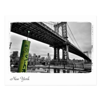 New- Yorkbrücke Postkarte