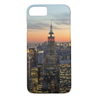 New- Yorkdämmerungs-Skyline iPhone 8/7 Hülle