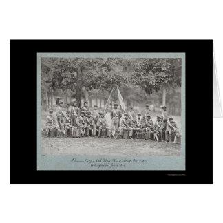 New- YorkDrum Corps in Arlington, VA 1861 Karte