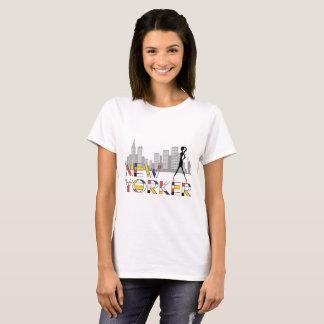 New Yorkerdame, Schönheit, elegant, Chic T-Shirt