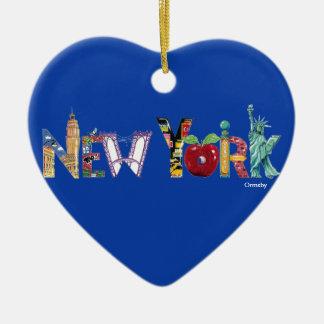 New- Yorkfeiertags-Keramik-Verzierung Keramik Ornament