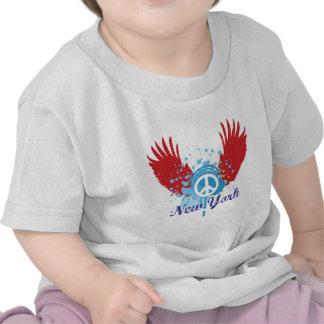 New- Yorkfriedenszeichen T Shirt