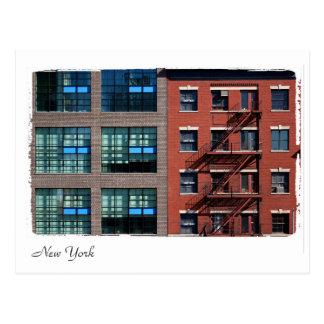 New- Yorkgebäude Postkarte