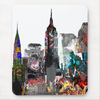 New- YorkGraffiti-Skyline Mousepad