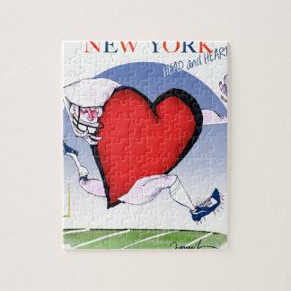 New- Yorkhaupt- und Herz, tony fernandes Puzzle