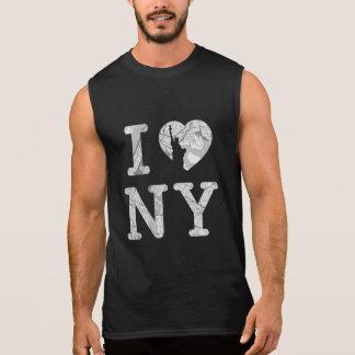 New- Yorkkarten-T - Shirt Sleeveless