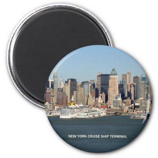 New- YorkKreuzschiff-Anschluss Kühlschrankmagnet