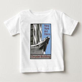 New- Yorkkunst-Deko - Chrysler-Gebäude-Adler Baby T-shirt