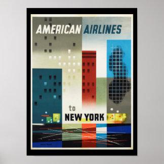 New- Yorkkunst-Deko-Vintages Plakat