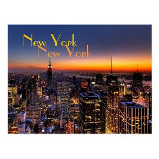 New- Yorkpostkarte Postkarte