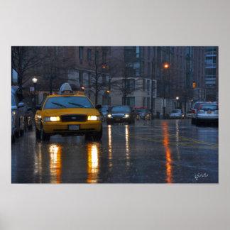 New- Yorkregen Poster