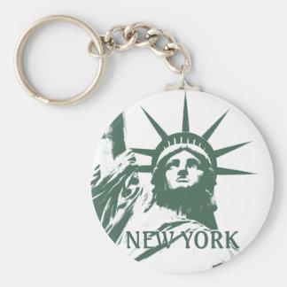 New Yorkschlüsselketten-New- Yorkandenken-Freiheit Schlüsselbänder