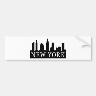 New- YorkSkyline Auto Aufkleber