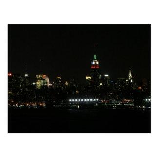 New- YorkSkyline Postkarte