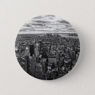 New- YorkSkyline Runder Button 5,1 Cm