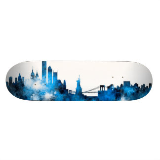New- YorkSkyline Skateboarddeck