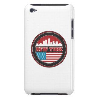 New- YorkSkyline | Vereinigte Staaten kennzeichnen Barely There iPod Etuis