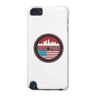 New- YorkSkyline | Vereinigte Staaten kennzeichnen iPod Touch 5G Hülle