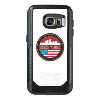 New- YorkSkyline | Vereinigte Staaten kennzeichnen OtterBox Samsung Galaxy S7 Hülle