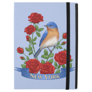 New- YorkStaats-Vogel und Blume
