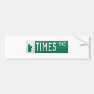 New- YorkStraßenschild - Times Square Autoaufkleber