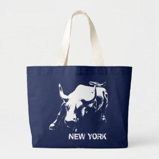 New- YorkTasche sackt NY Taschen-Taschen-Sehenswür Jumbo Stoffbeutel