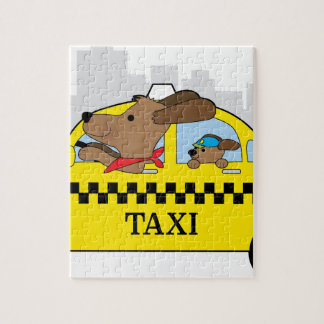 New- Yorktaxi-Hund Puzzle