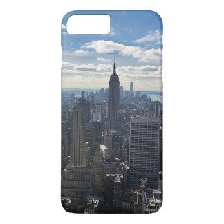 New- Yorktelefon-Kasten - Reich-Staat iPhone 8 Plus/7 Plus Hülle