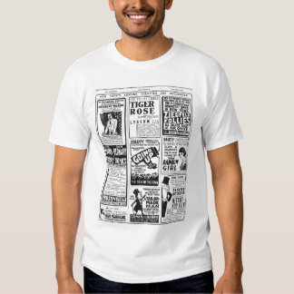New- Yorktheater 1918 Vintager T Shirts