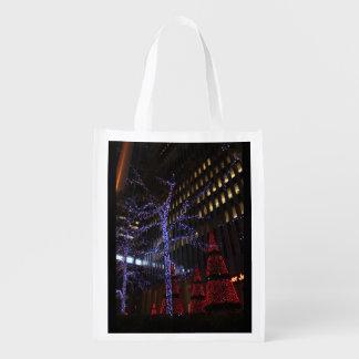 New- Yorkweihnachten Wiederverwendbare Einkaufstasche