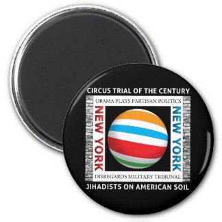 New- YorkZirkus-Versuch Runder Magnet 5,1 Cm