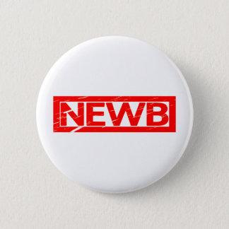 Newb Briefmarke Runder Button 5,7 Cm