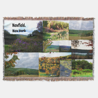 NEWFIELD NEW YORK Wurf Decke