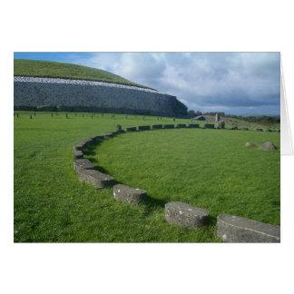 Newgrange, Irland Grußkarte