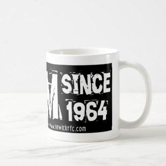 Newick RFC LFGM seit 1964 Kaffeetasse