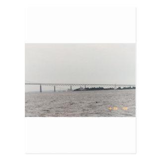 Newport-Brücke Postkarte
