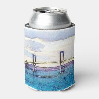 Newport-Brückenmonogramm kann cooler mit Dosenkühler