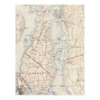 Newport County, Rhode Island Postkarte