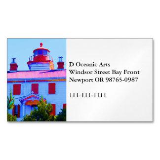 Newport-Leuchtturm Visitenkartenmagnet