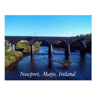 Newport, Postkarte Co Mayo