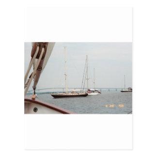 Newport, RI Postkarte