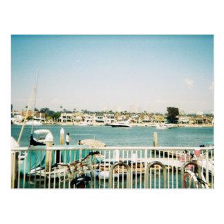Newport-Strand, Kalifornien Postkarte
